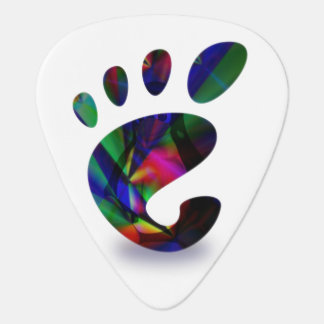 GNOME Place Like LINUX Guitar Pick