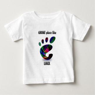 GNOME Place Like LINUX T-shirt