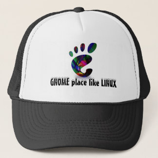GNOME Place Like LINUX Trucker Hat