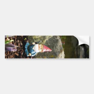 Gnome Pond Bumper Sticker