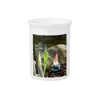 Gnome Pond Drink Pitcher