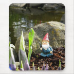 Gnome Pond Mouse Pads