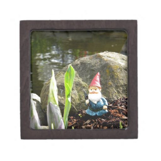 Gnome Pond Premium Keepsake Box