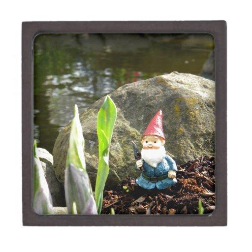 Gnome Pond Premium Keepsake Boxes