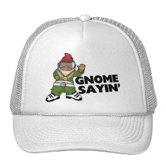 Gnome Sayin Funny Swag Gnome Mesh Hat