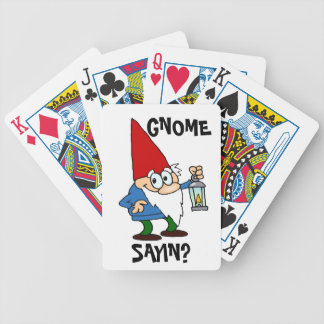 Gnome Sayin Playing Cards