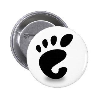 Gnome soon pinback button