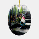 Gnome Stairs Christmas Ornaments
