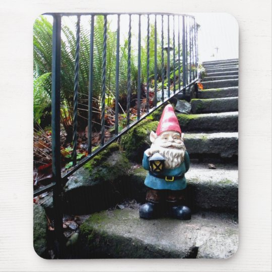 Gnome Stairs Mouse Pad