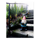 Gnome Stairs Postcard
