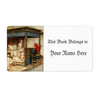 Gnome Surprise by Arthur Rackham Shipping Label