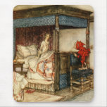 Gnome Surprise by Arthur Rackham Mouse Pad