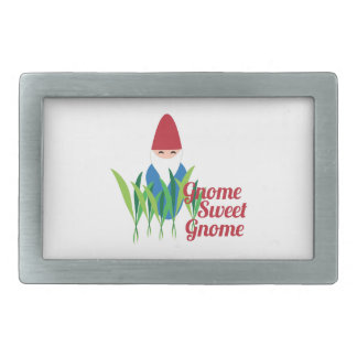 Gnome Sweet Gnome Belt Buckles