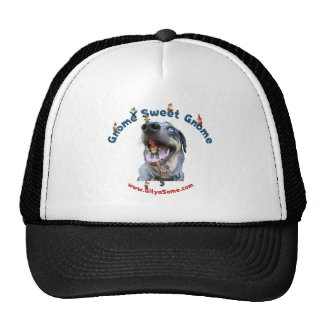Gnome Sweet Gnome Dog Trucker Hat
