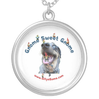 Gnome Sweet Gnome Dog Necklace