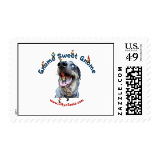 Gnome Sweet Gnome Dog Postage