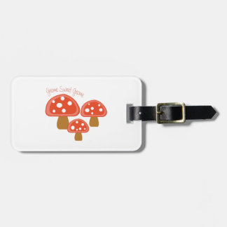 Gnome Sweet Gnome Travel Bag Tags