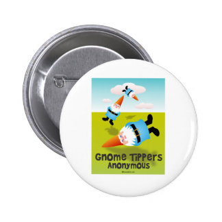 Gnome Tippers Anonymous 2 Inch Round Button
