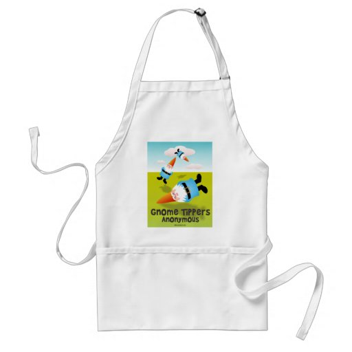 Gnome Tippers Anonymous Adult Apron