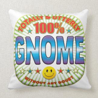 Gnome Totally Throw Pillows