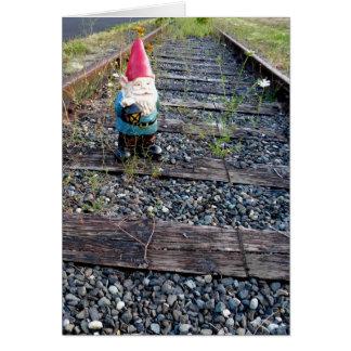 Gnome Tracks Card