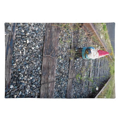 Gnome Tracks Cloth Placemat