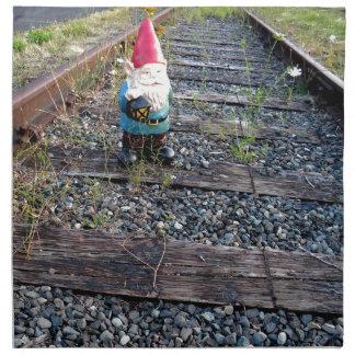 Gnome Tracks Napkin