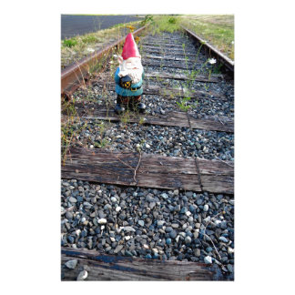 Gnome Tracks Stationery