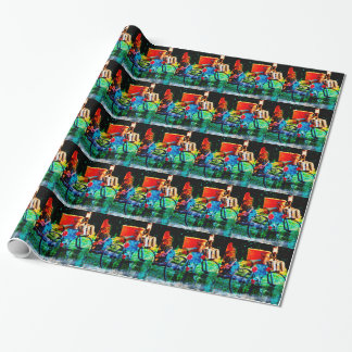 Gnome Valley Wrapping Paper