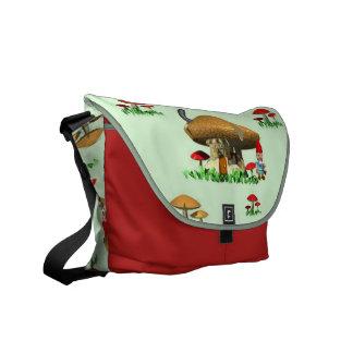 Gnome Village Messenger Bag