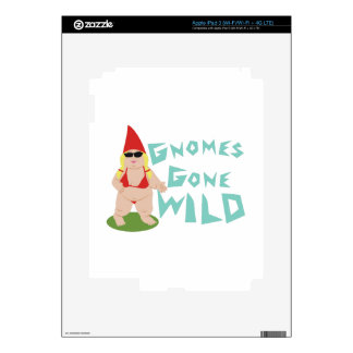 Gnome Wild Decal For iPad 3