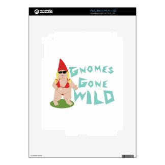 Gnome Wild iPad 2 Skin