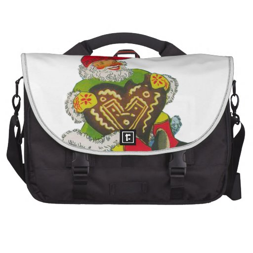 Gnome with a heart bag for laptop