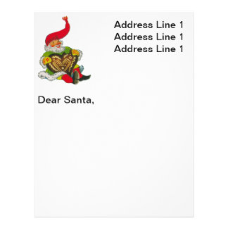 Gnome with a heart letterhead