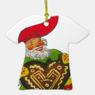 Gnome with a heart Double-Sided T-Shirt ceramic christmas ornament