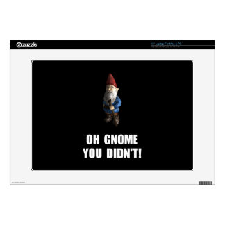 "Gnome You Didnt 15"" Laptop Decal"