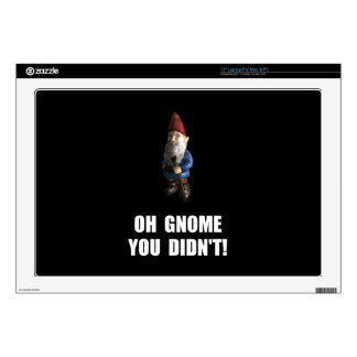 "Gnome You Didnt Skin For 17"" Laptop"