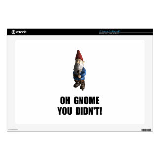 "Gnome You Didnt Skins For 17"" Laptops"