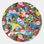 Gnomes Classic Round Sticker