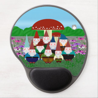 Gnomes Gel Mouse Pad