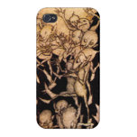 Gnomes I by Arthur Rackham Covers For iPhone 4
