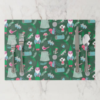 Gnomes Magikal Forest Tear Away Placemats