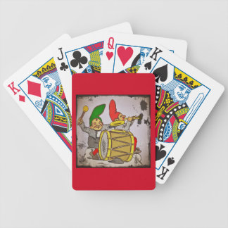 Gnomes Making Music Bicycle Playing Cards