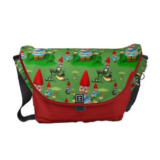 Gnomes Courier Bag