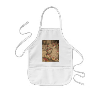 Gnomes Mining in a Cave Aprons