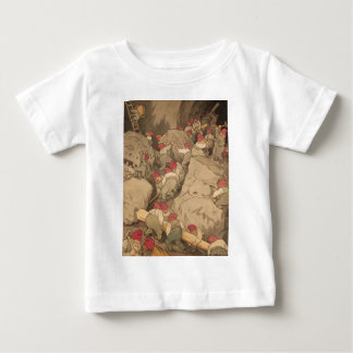 Gnomes Mining in a Cave Baby T-Shirt