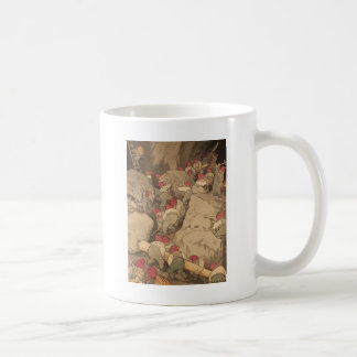 Gnomes Mining in a Cave Coffee Mug