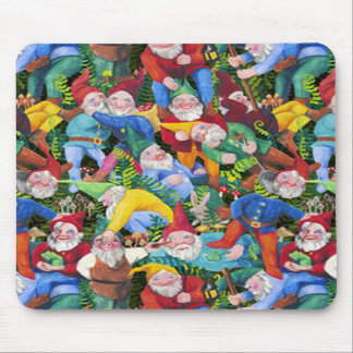 Gnomes Mouse Pad