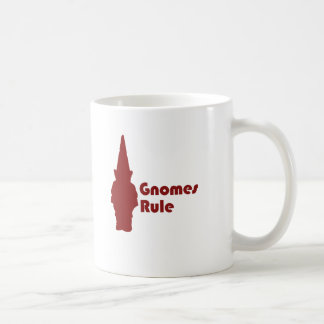 Gnomes Rule Coffee Mugs