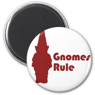 Gnomes Rule Magnet